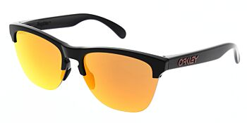 Oakley Sunglasses Frogskins Lite Matte Black Prizm Ruby OO9374-0463