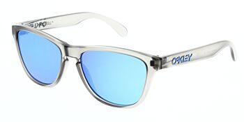 Oakley Sunglasses Frogskins XS Matte Grey Ink Prizm Sapphire Iridium OJ9006-0553