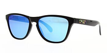Oakley Sunglasses Frogskins XS Valentino Rossi VR46 Polished Black Prizm Sapphire Iridium OJ9006-1353
