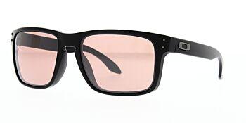 Oakley Sunglasses Holbrook Matte Black Prizm Dark Golf OO9102-K055