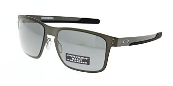 Oakley Sunglasses Holbrook Metal Matte Gunmetal Prizm Black Polarised OO4123-0655