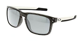 Oakley Sunglasses Holbrook Mix Woodgrain Prizm Black Iridium OO9384-0457