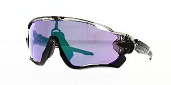Oakley Sunglasses Jaw Breaker Grey Ink Prizm Road Jade OO9290-4631