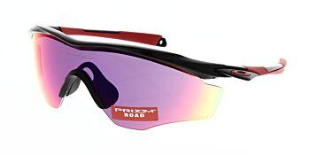 Oakley Sunglasses M2 Frame XL Polished Black Prizm Road OO9343-0845