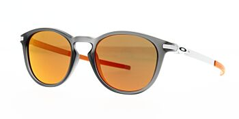 Oakley Sunglasses Pitchman R Matte Grey Smoke Prizm Ruby OO9439-0750
