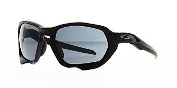 Oakley Sunglasses Plazma Matte Black Prizm Grey OO9019-0159