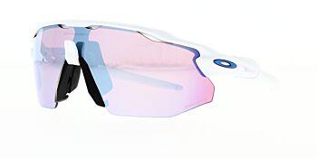 Oakley Sunglasses Radar EV Advancer Polished White Prizm Snow Sapphire Iridium OO9442-1038
