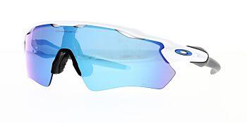 Oakley Sunglasses Radar EV Path Polished White Prizm Sapphire Iridium OO9208-7338