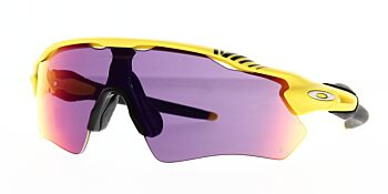 Oakley Sunglasses Radar EV Path Tour De France Matte Yellow Prizm Road OO9208-7638