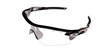 Oakley Sunglasses Radarlock Path Vented Polished Black/Clear Black Iridium Photochromic OO9181-3638
