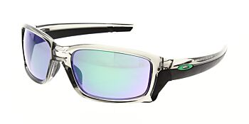 Oakley Sunglasses Straightlink Grey Ink Jade Iridium OO9331-0361
