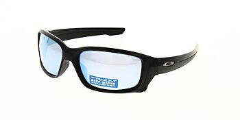Oakley Sunglasses Straightlink Matte Black/Prizm Deep H2O Polarised OO9331-0561