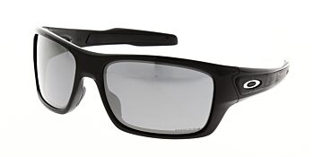 Oakley Sunglasses Turbine Polished Black Prizm Black Polarised OO9263-4163