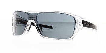 Oakley Sunglasses Turbine Rotor Polished Clear Prizm Grey OO9307-2732