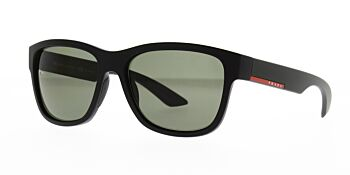 Prada Sport Sunglasses PS03QS 1BO5X1 Polarised 57