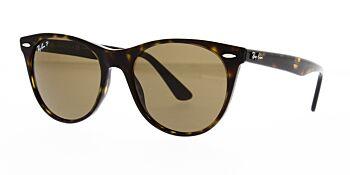 Ray Ban Sunglasses Wayfarer II RB2185 902 57 Polarised 55