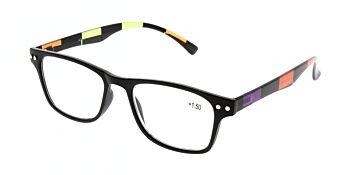 Reading Glasses Model R15 Black +1.50