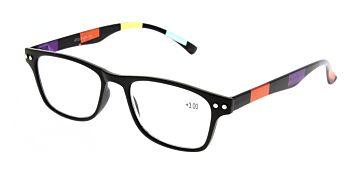Reading Glasses Model R15 Black +3.00