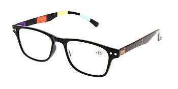 Reading Glasses Model R15 Black +3.50