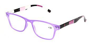 Reading Glasses Model R15 Purple +1.50