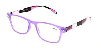 Reading Glasses Model R15 Purple +2.00