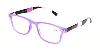 Reading Glasses Model R15 Purple +2.50