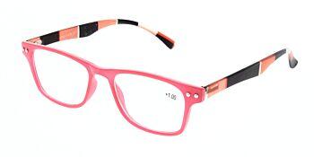 Reading Glasses Model R15 Red +1.00