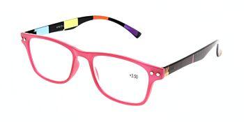 Reading Glasses Model R15 Red +3.50
