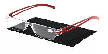Reading Glasses Model R5 Red +3.00