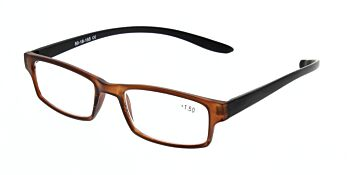 Reading Glasses Model R9 Brown +1.50
