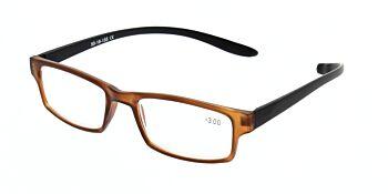 Reading Glasses Model R9 Brown +3.00