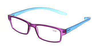 Reading Glasses Model R9 Purple +2.00