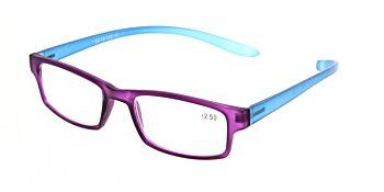 Reading Glasses Model R9 Purple +2.50