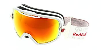 Red Bull Racing Eyewear Goggles RBRE Parabolica 008S White/Fire Race