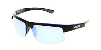 Revo Sunglasses Cusp C Shiny Black Blue Blue Water Polarised RE 1024 15 BL