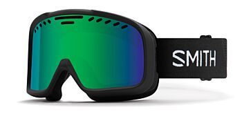 Smith Optics Goggles Project Black/Green Mirror