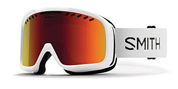 Smith Optics Goggles Project White/Red Sol-X Mirror