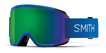 Smith Optics Goggles Squad Imperial Blue/ChromaPop Sun Green & Yellow