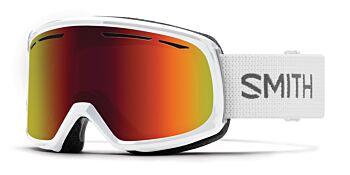 Smith Optics Goggles Drift White/Red Sol-X Mirror