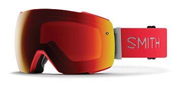 Smith Optics Goggles I/O Mag Rise/ChromaPop Sun Red Mirror & ChromaPop Storm Rose Flash