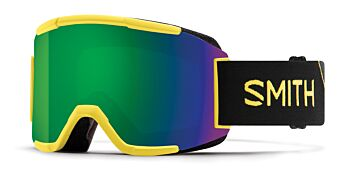Smith Optics Goggles Squad Citron Glow/ChromaPop Sun Green Mirror & Yellow