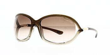 Tom Ford Jennifer Sunglasses TF8 38F 61