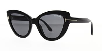 Tom Ford Anya Sunglasses TF762 01A 55