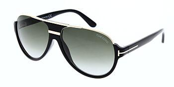 Tom Ford Dimitry Sunglasses TF334 01P 59