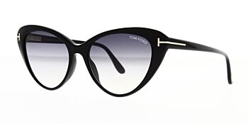 Tom Ford Harlow Sunglasses TF869 01B 56