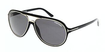 Tom Ford Sergio Sunglasses TF379 01A 60
