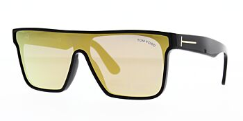 Tom Ford Whyat Sunglasses TF709 01G 75