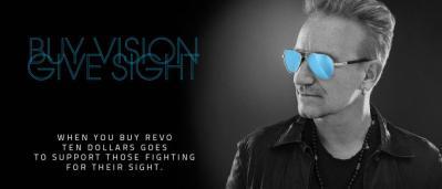 Bono Sunglasses - Buy vision, give sight